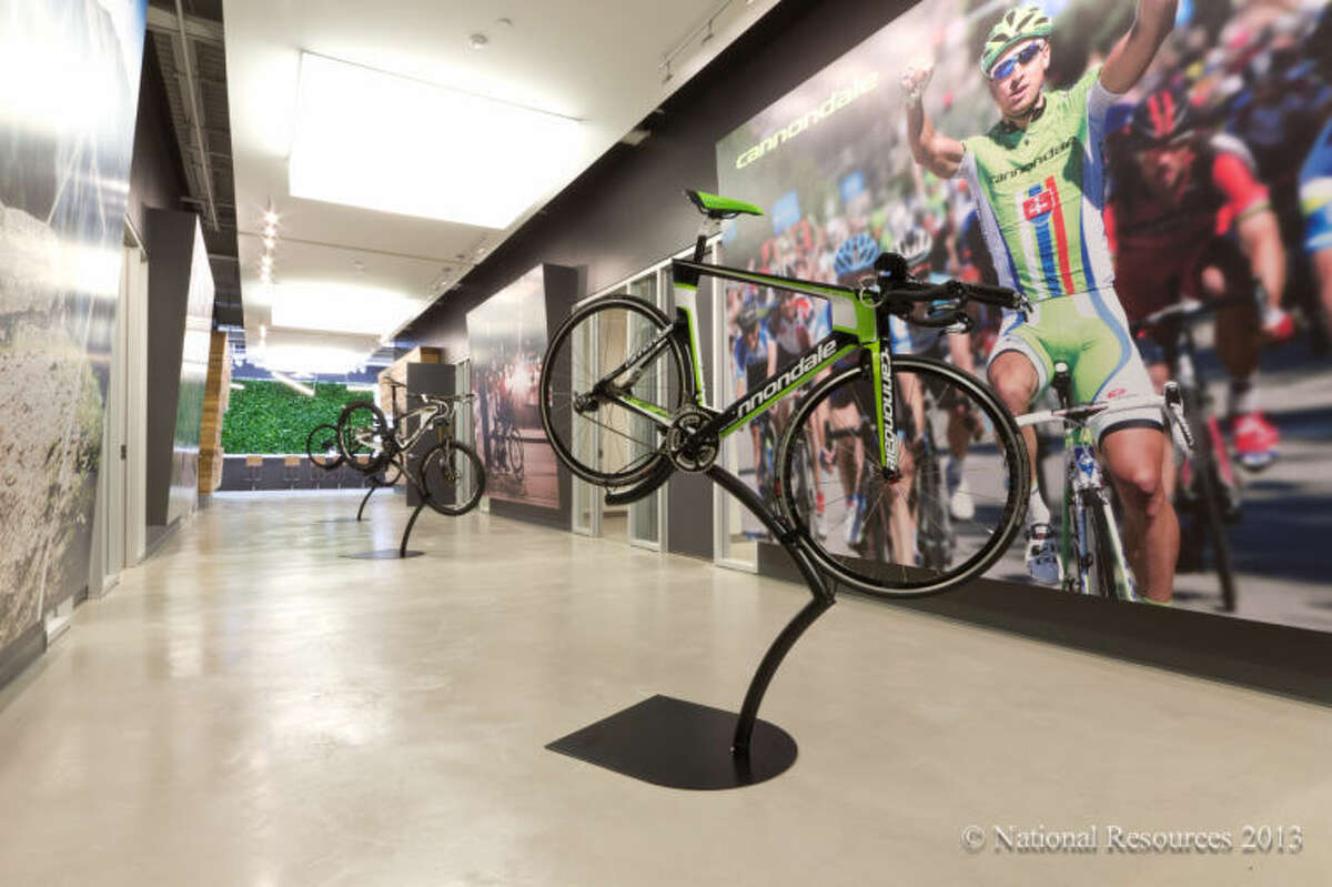 Inside Cannondale's new headquarters at the i.Park in Wilton.