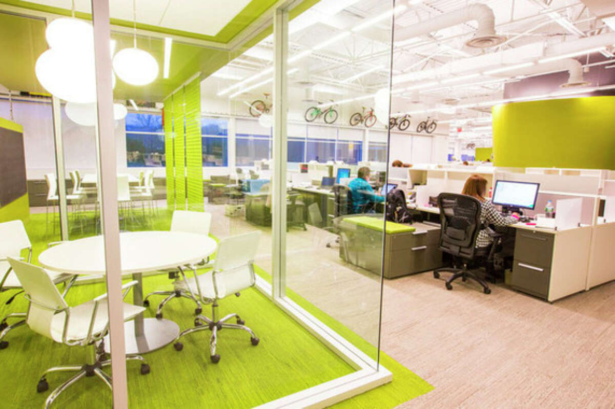Contributed photo Inside Cannondale's new headquarters in Wilton.
