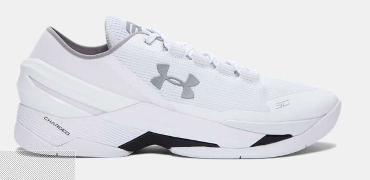 Stephen Curry's UA Curry Two It's tough to decide if these look like nurses' shoes or your dad's shoes. Either way, these don't figure to be hot-sellers, and certainly aren't befitting of the reigning two-time NBA MVP.