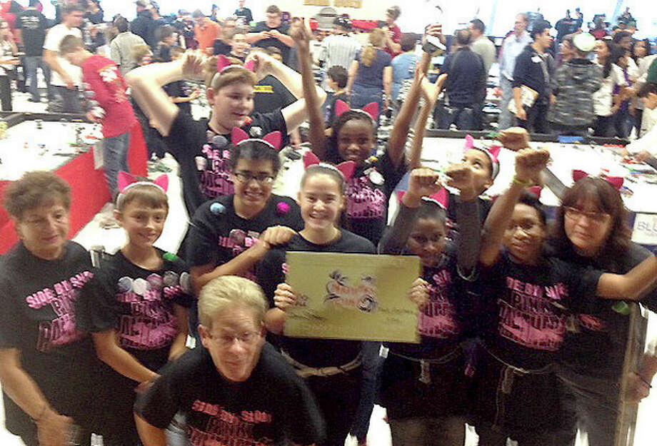 Side by Side's Lego team wins state title