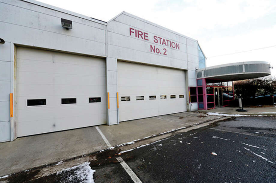 Hour photo / Erik Trautmann Norwalk Common Council returns to committee Tuesday evening and plan to accept $1.3 million grant to convert 100 Fairfield Ave. into regional Fire Fleet Maintenance Facility where emergency vehicles from surrounding towns also would be fixed. / (C)2013, The Hour Newspapers, all rights reserved