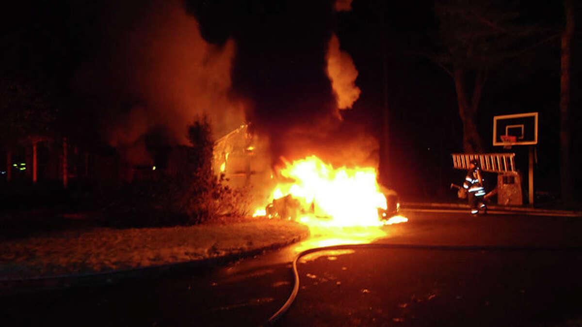 Norwalk Fire Department fights blaze Thursday morning