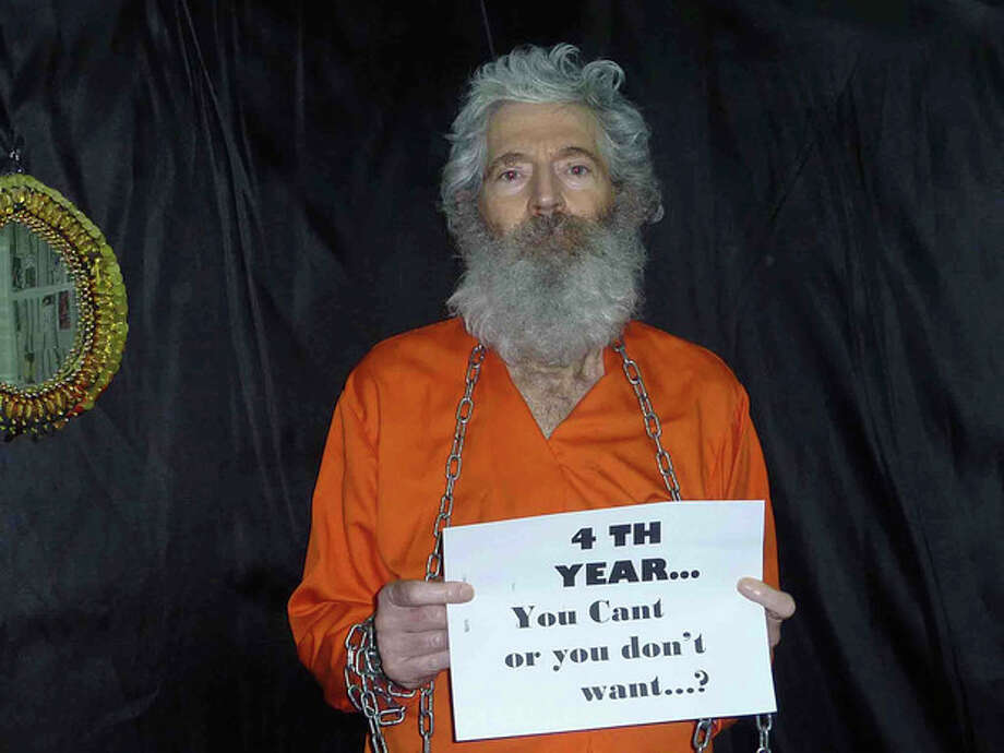 This undated handout photo provided by the family of Robert Levinson after they received it in April 2011, shows retired-FBI agent Robert Levinson. In March 2007, Levinson flew to Kish Island, an Iranian resort awah with tourists, smuggler and organized crime figures. Days later after a meeting with an admitted killer, he vanished. For years the U.S. has publicly described him as a private citizen who was traveling on private business. However, an Associated Press investigation reveals that Levinson was working for the CIA. (AP Photo/Levinson Family) / Levinson Family