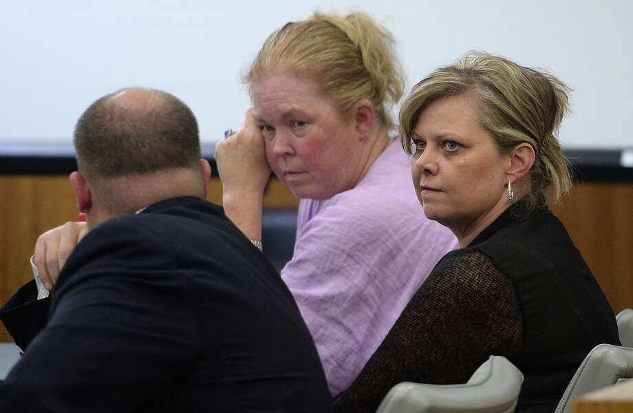 Crystal Boyett just after she was given a 20 year sentence for the charge of manslaughter in the death of Connely Renee Burns. Photo taken Friday, April 24, 2015 Guiseppe Barranco/The Enterprise Photo: Guiseppe Barranco, Photo Editor