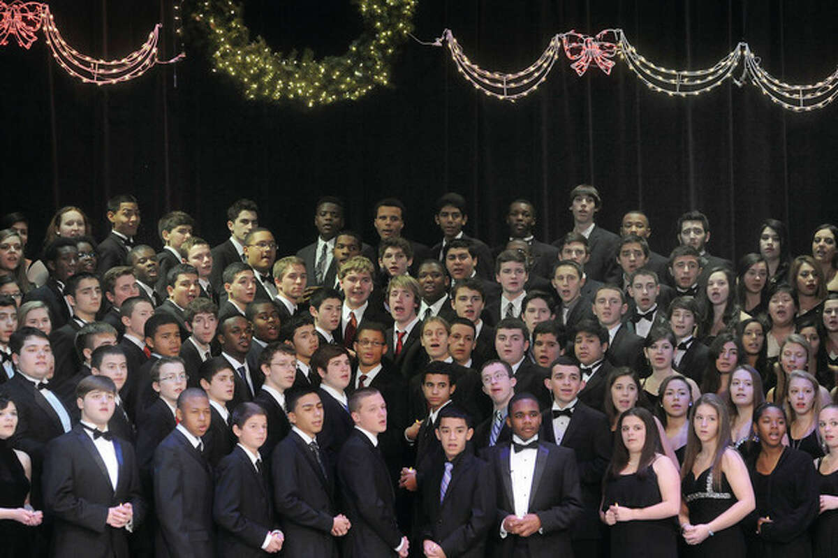 The 2013 Candlelight concert is performed Monday night at Norwalk High School. If there is no school on Tuesday or an early dismissal, the Tuesday evening performance will be moved to Wednesday at 6 p.m. Those who hold tickets to the Tuesday performance can use those tickets Wednesday. There will also be a second Wednesday performance at 8 p.m. If Tuesday ticket holders are unable to attend Wednesday's performance at 6 p.m., the tickets can be exchanged for Wednesday's performance at 8 p.m. Tickets must be exchanged prior to the 6 p.m. performance on Wednesday. Hour photos / Matthew Vinci