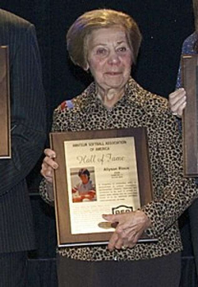Allyson Rioux honored with ASA Hall of Fame induction