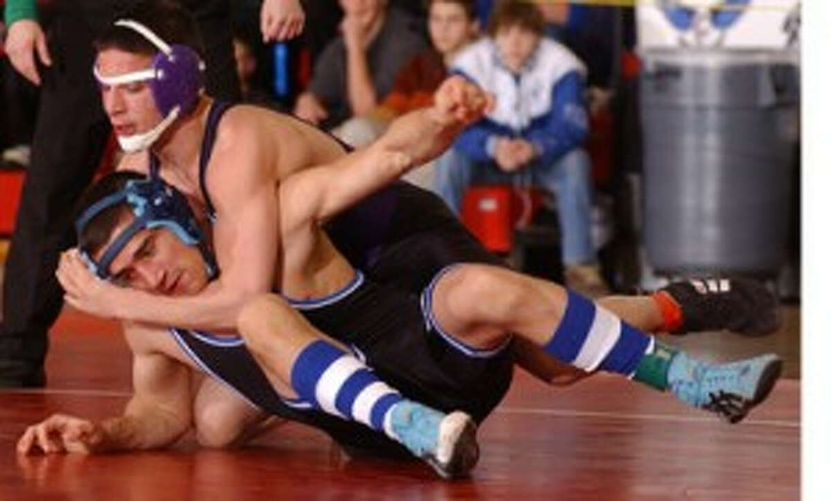 Westhill Has A Zack Attack At FCIAC Wrestling