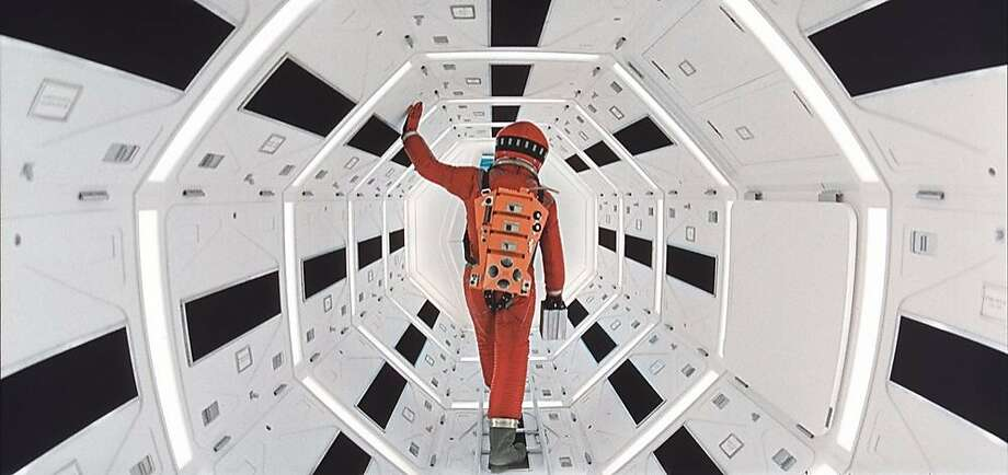 """A scene from Stanley Kubrick's classic """"2001: A Space Odyssey."""" Photo: Warner Bros. Entertainment"""