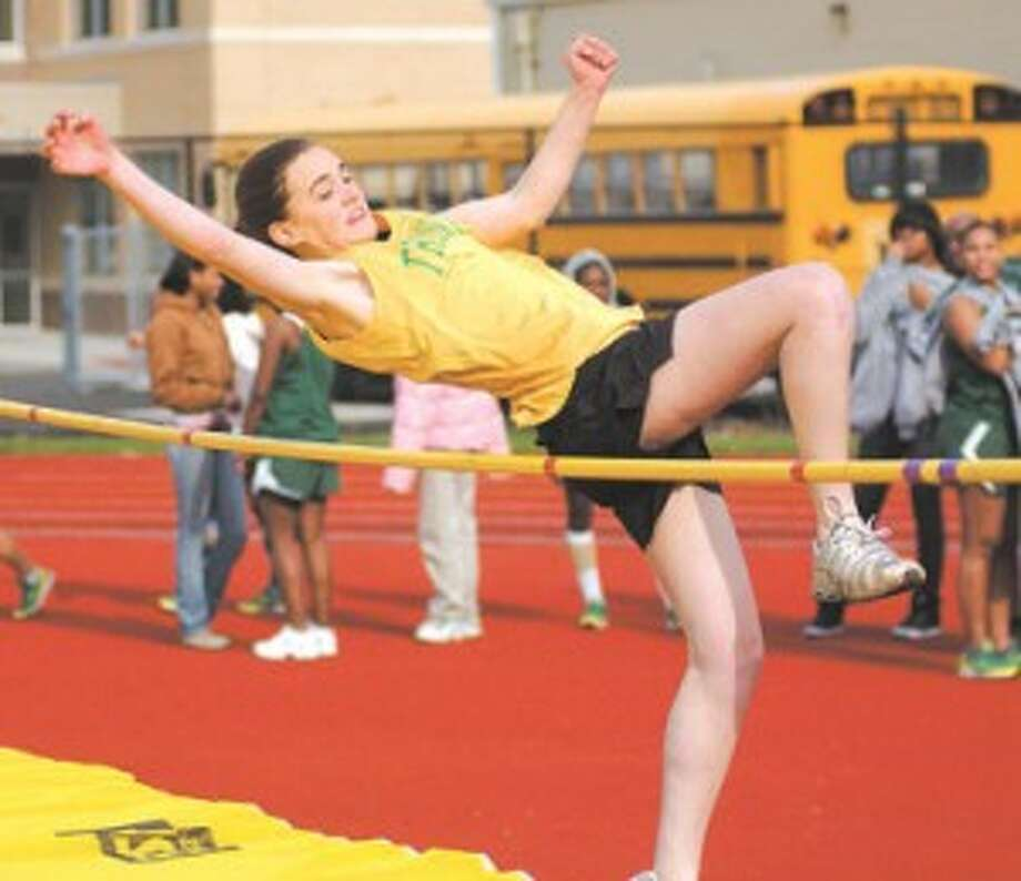 The One-Girl Team At Monday's City Girls Track Championship (Updated with a clarification)