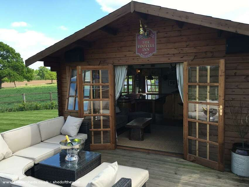 Backyard pubs are becoming a growing trend that's social-distancing friendly.