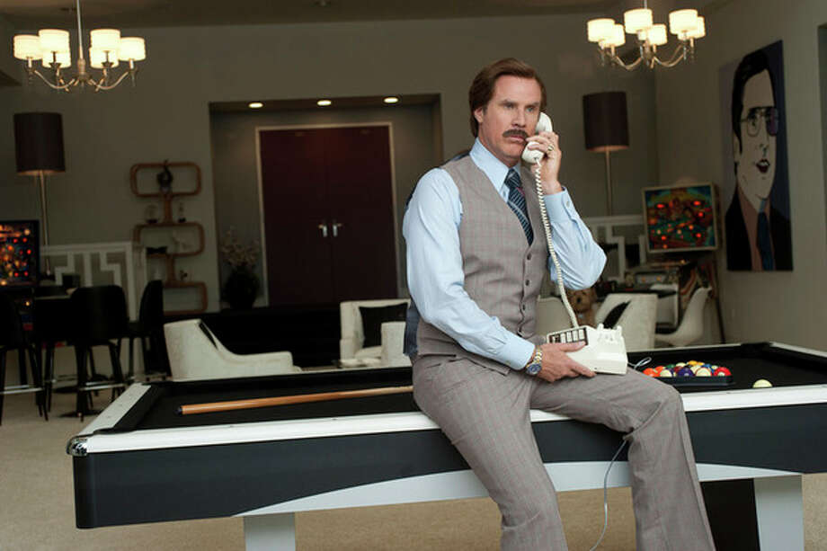 "This image released by Paramount Pictures shows Will Ferrell as Ron Burgundy in a scene from ""Anchorman 2: The Legend Continues."" (AP Photo/Paramount Pictures, Gemma LaMana) / Paramount Pictures"