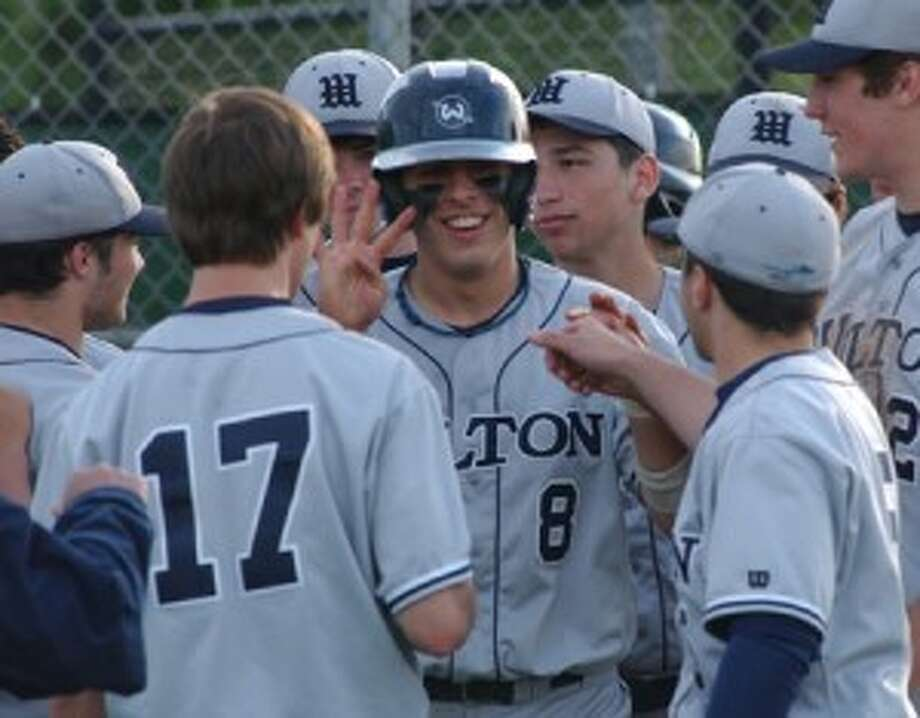 For A Night: Smiles From The Wilton Baseball Team