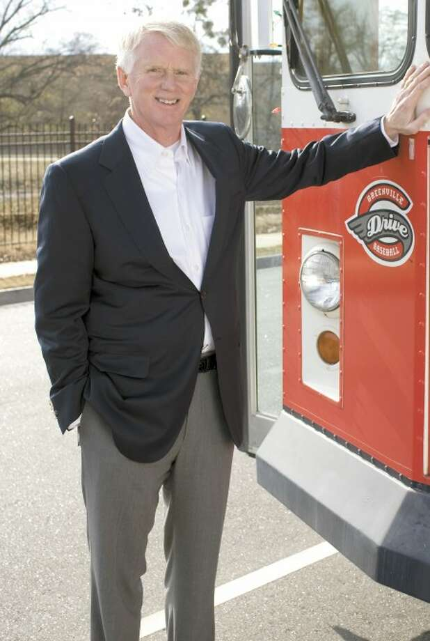 Photo courtesy of the Greenville Drive - Craig Brown, a resident of Wilton, is the president and co-owner of the Greenville Drive baseball team in South Carolina.