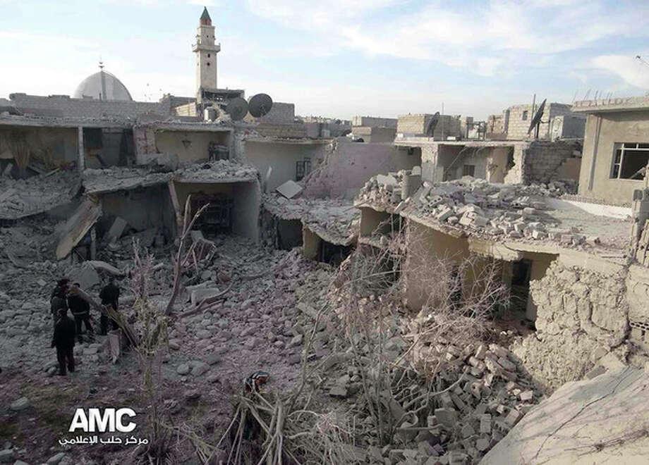 / Aleppo Media Center AMC