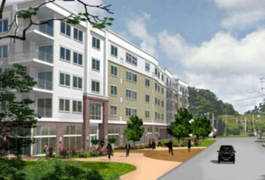Contributed imageRendering of proposed development on Glover Ave. by Building and Land Technology.