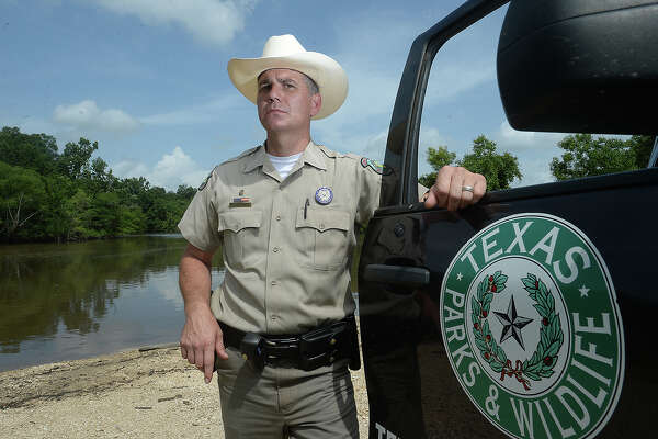 """Newton County Game Warden Ellis Powell, a twelve-year veteran with the department, is among the six Southeast Texas Game Wardens featured in """"Lone Star Law,"""" a reality television series airing on Animal Plant. The latest installment will show tonight at 9 p.m. Photo taken Thursday, June 9, 2016 Kim Brent/The Enterprise"""