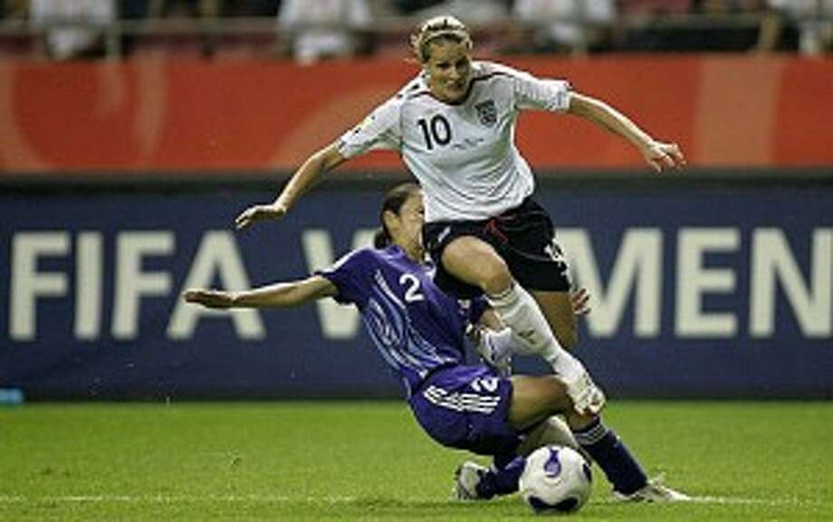Seven Degrees of Kristine Lilly