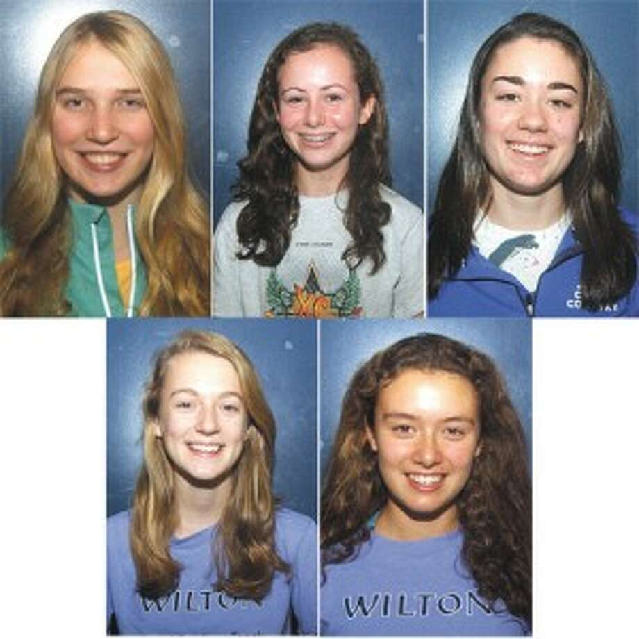 Five Wilton runners lead The Hour's All-Area girls XC team