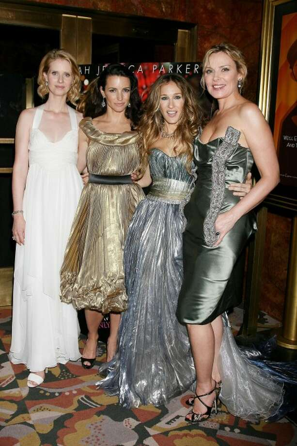 """""""Sex and the City"""" stars. AP photo"""