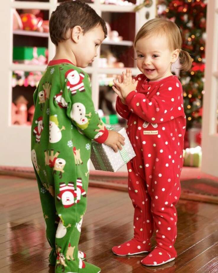 **FOR USE WITH AP LIFESTYLES** This undated photo provided by Carter''s shows Carter''s sleepwear for children. With families turning back the thermostat to save money this year, and many also looking for practical, long-lasting gifts, pajamas look to be a popular holiday gift. (AP Photo/Carter''s) **NO SALES**