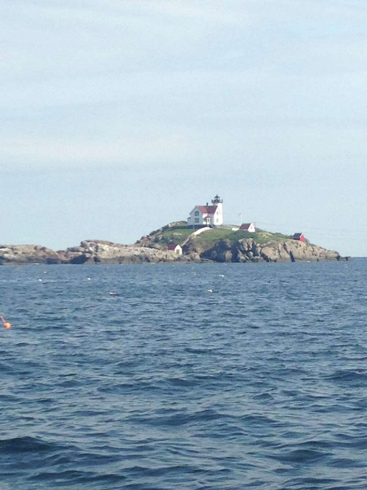 Nubble Lighthouse in York, Maine (Peggy Hogan-Rao).