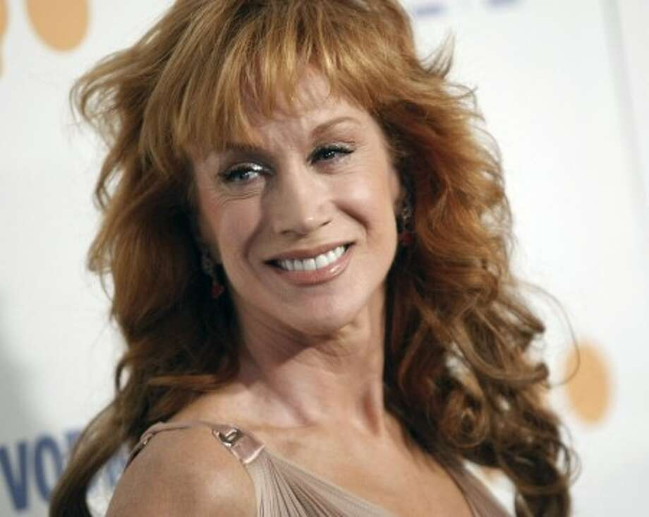 Comedienne Kathy Griffin arrives at the 20th Annual GLAAD Media Awards in Los Angeles on April 18. (AP Photo/Dan Steinberg, file)