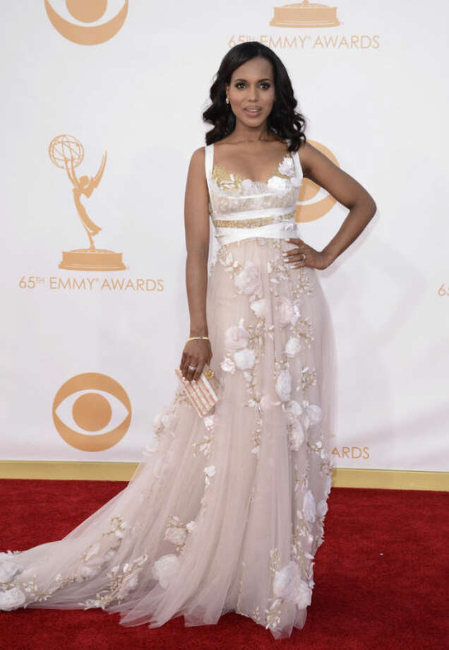 Photo by Dan Steinberg/Invision/AP, FileThis sept. 22, 2013 file photo shows actress Kerry Washington at the 65th Primetime Emmy Awards at Nokia Theatre in Los Angeles.