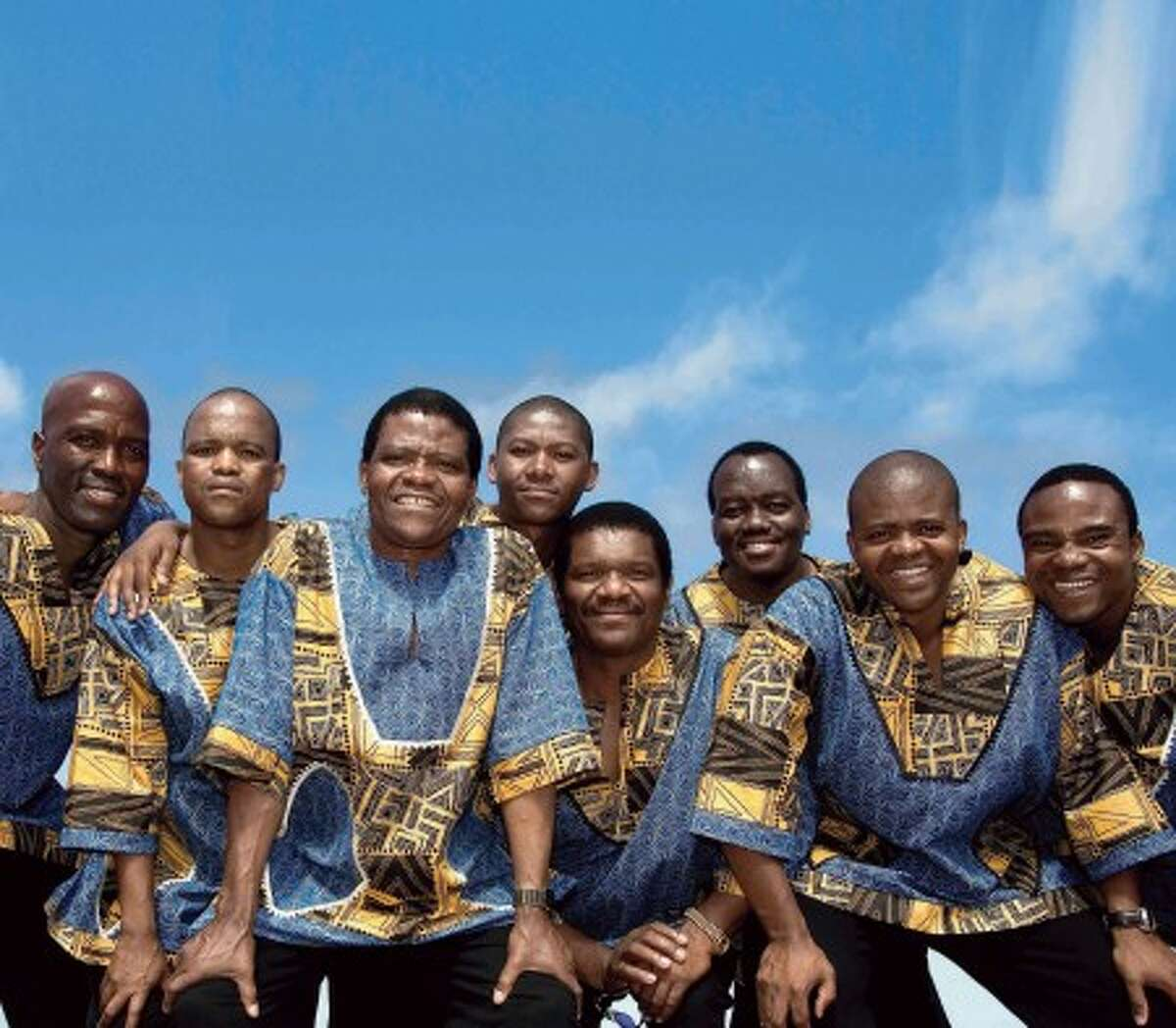 The Grammy-winning vocal group, Ladysmith Black Mambazo, appears at 8 p.m. Friday at the Quick Center in Fairfield.