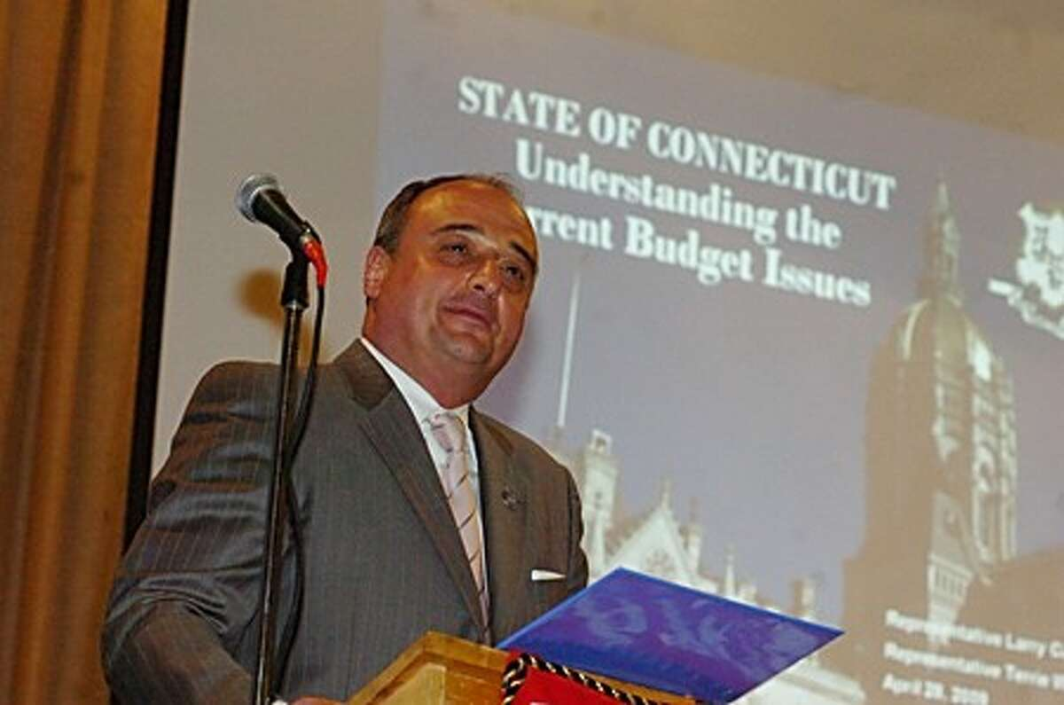 State House Republican leader Lawrence Cafero hosts
