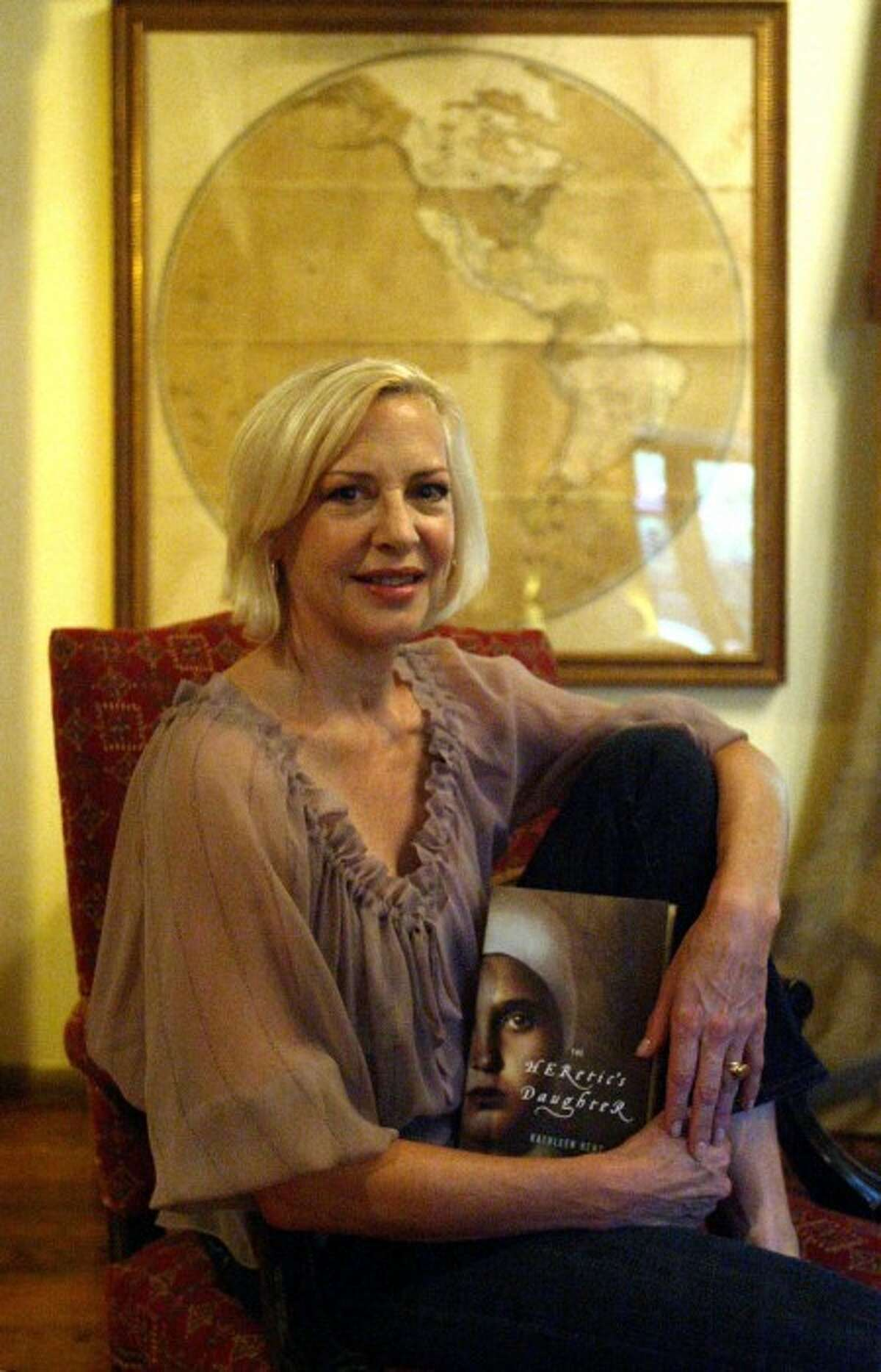 Author Kathleen Kent got a major book deal and serious promotion for her debut novel,