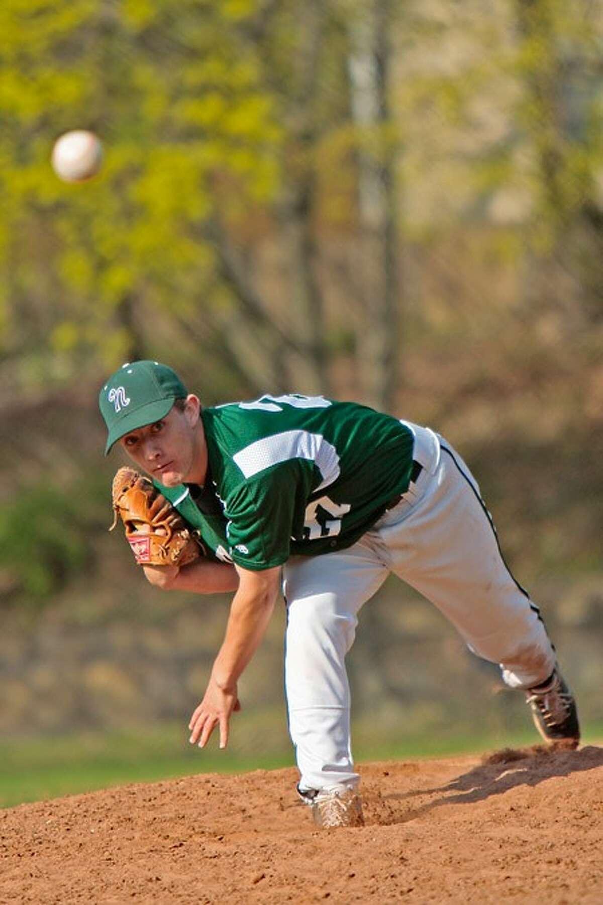 Norwalk pitcher # 27. Hour photo / BEN GANCSOS