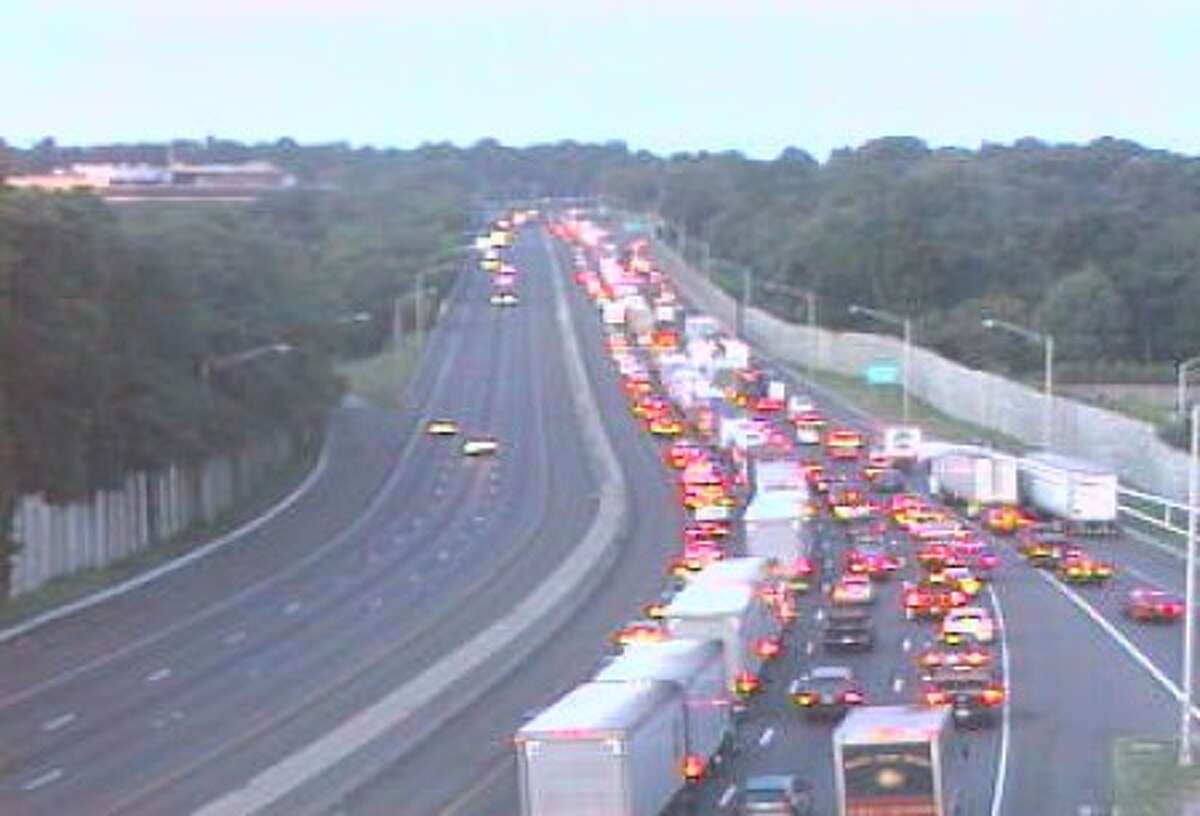 Tractor Trailer accident closes two lanes on I-95