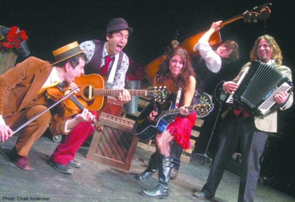 Caravan of Thieves, a rollicking collection of local musical legends, will open the main stage of the Norwalk Seaport Association Oyster Festival at 7:30 p.m. Friday. (Contributed photo/Chad Anderson)