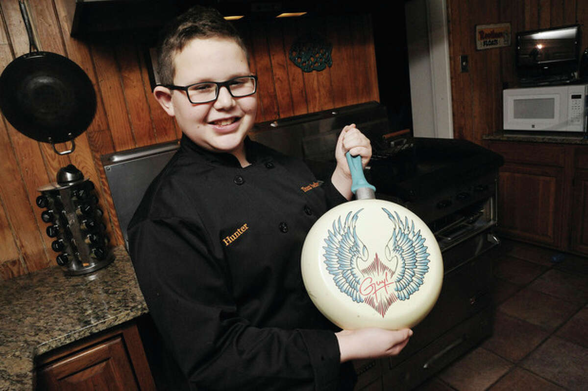 """Chef Hunter Zampa was recently featured on Food Network's """"Chopped"""" Teen Edition and won. photo/Matthew Vinci"""