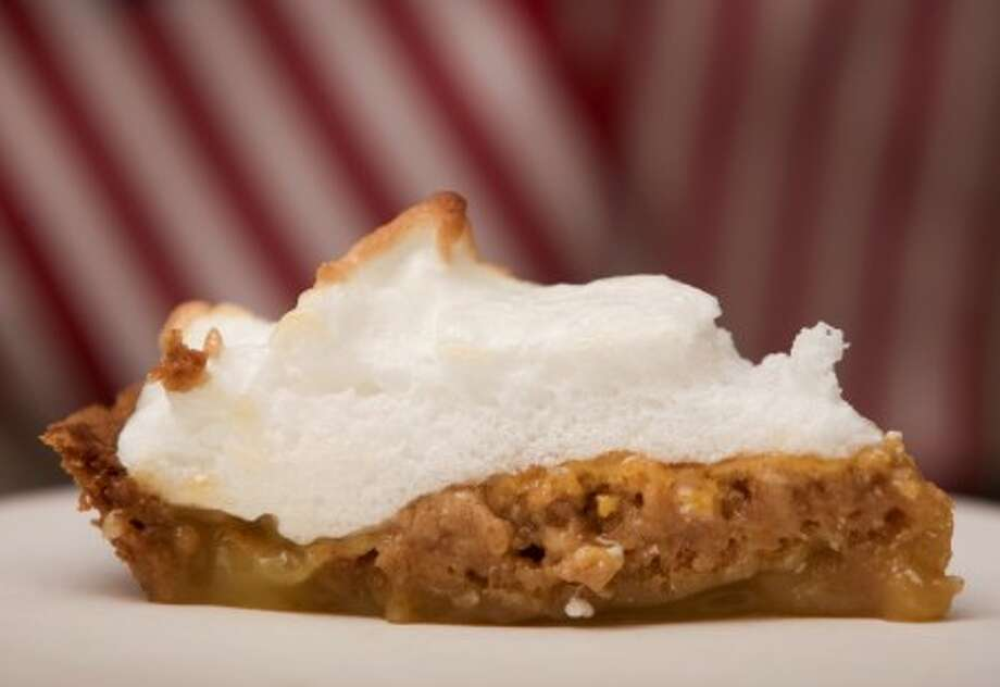 """Lincoln''s Lemon Custard Pie from """"Lincoln''s Table: Victorian Recipes From Kentucky, Indiana, and Illinois to the White House,"""" by Donna D. McCreary. (George Bridges/MCT)"""