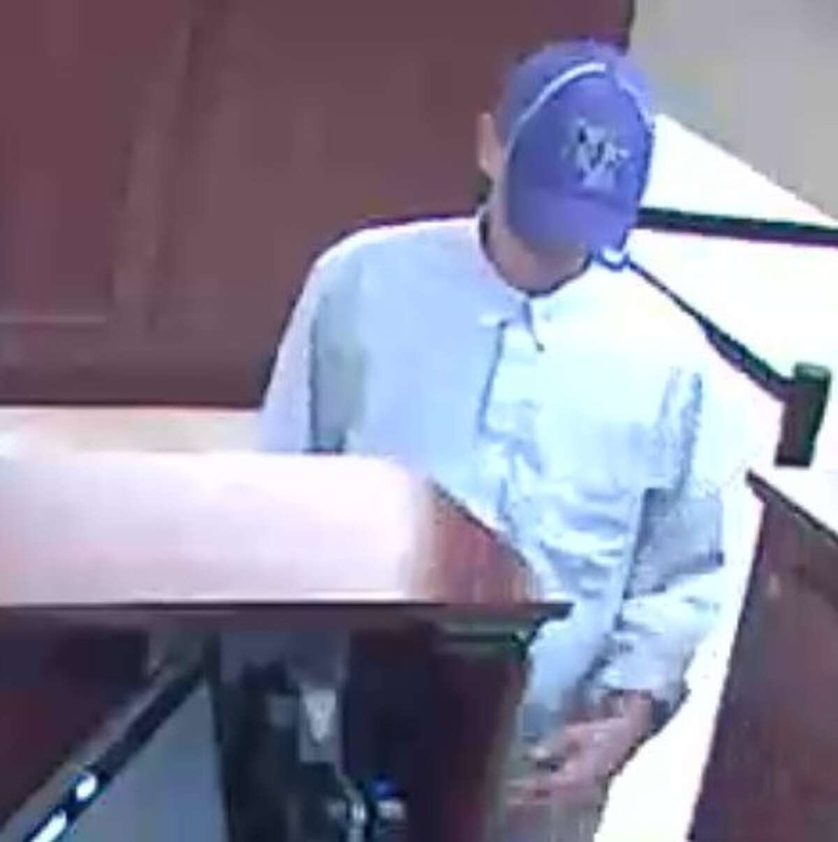 The Federal Bureau of Investigation is looking for this man who is suspected of robbing the Shell Federal Credit Union at 4787 Wilson Road in Humble on Wednesday, June 15, 2016.