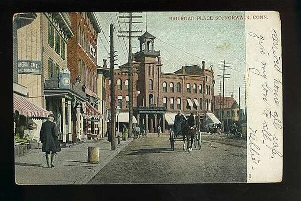Railroad Place - Old Norwalk Postcards