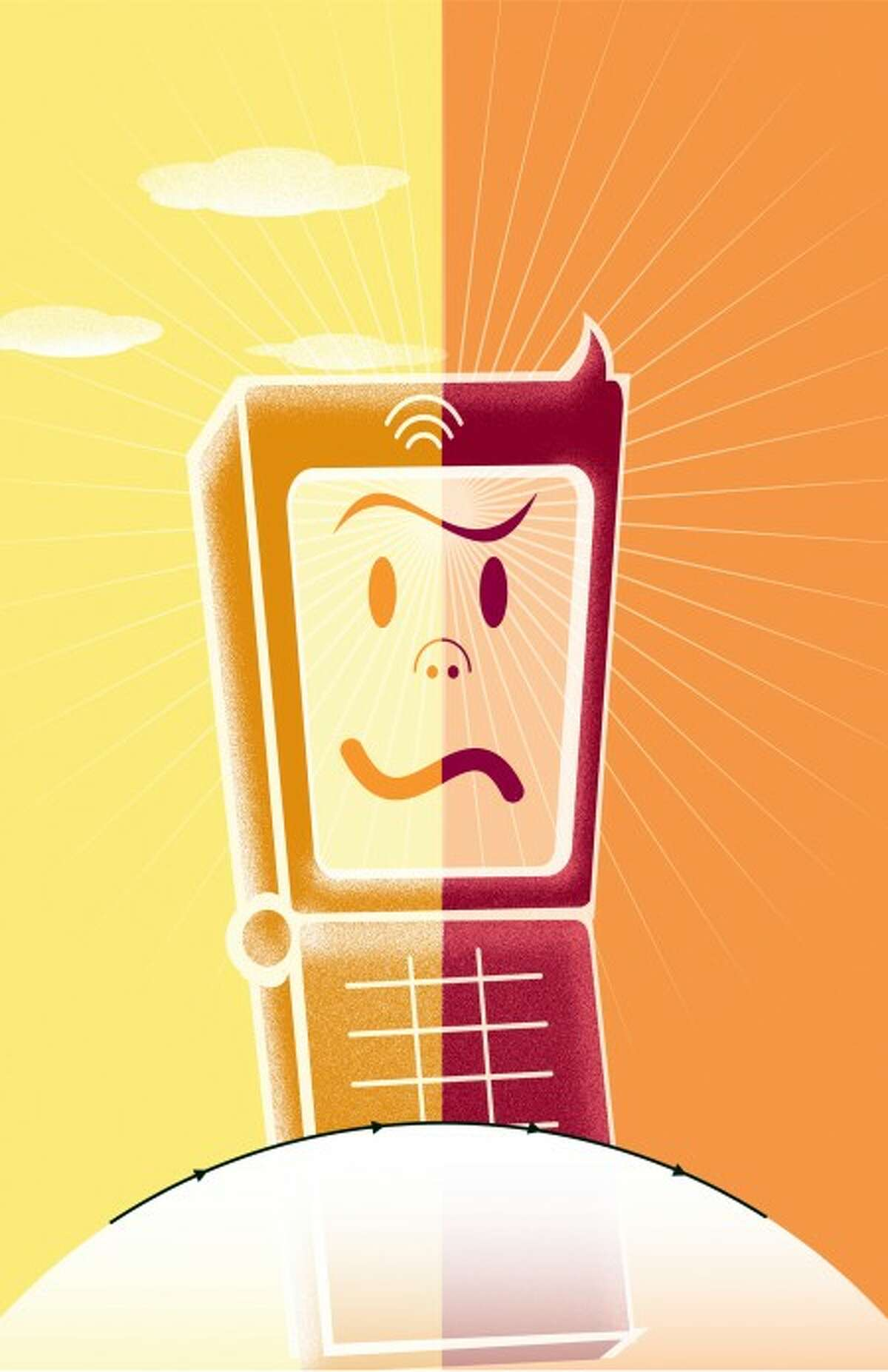 Your cell phone has the power to kill you or save your life. (Hugo Espinoza/Chicago Tribune/MCT)