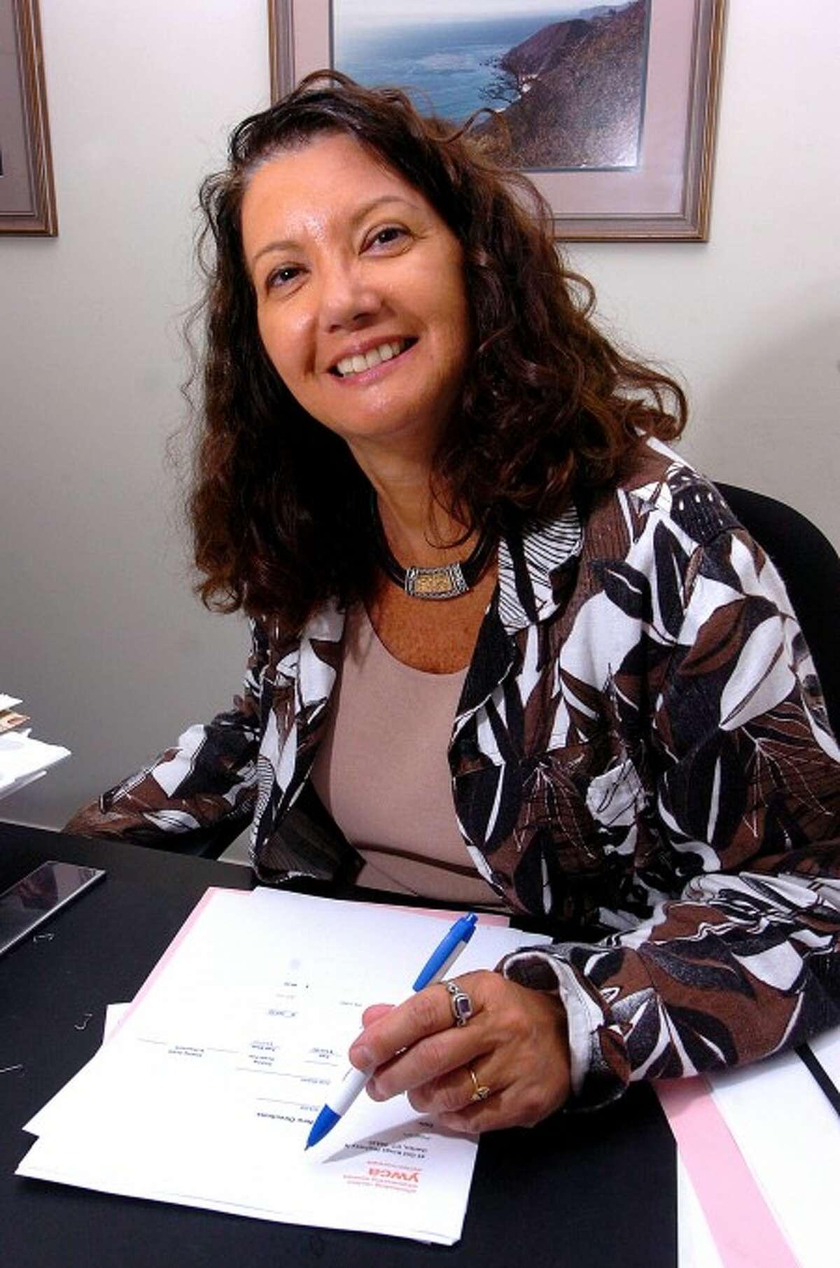 Photo/Alex von Kleydorff. Carol Piscitelli, New Directions Coordinator at the YWCA of Darien/Norwalk.