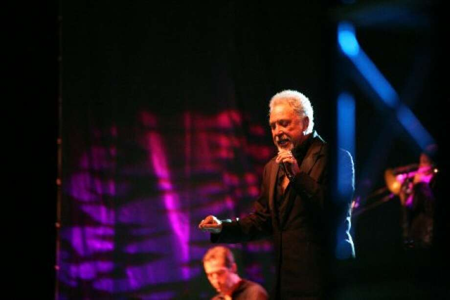 Sir Tom Jones took center stage at the Levitt Pavilion on Friday, June 19. (Hour photo/Danielle Robinson)