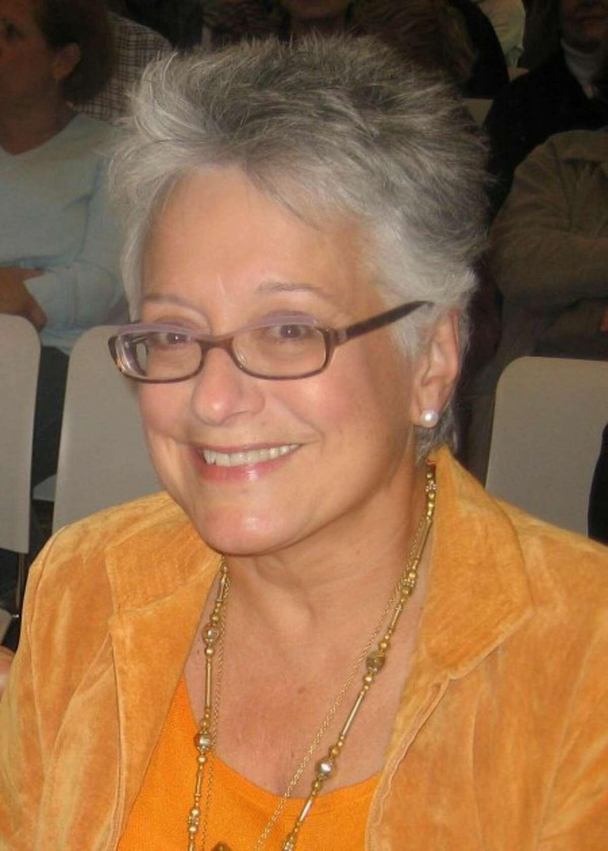 Joanna Ecke talks poetry in Wilton