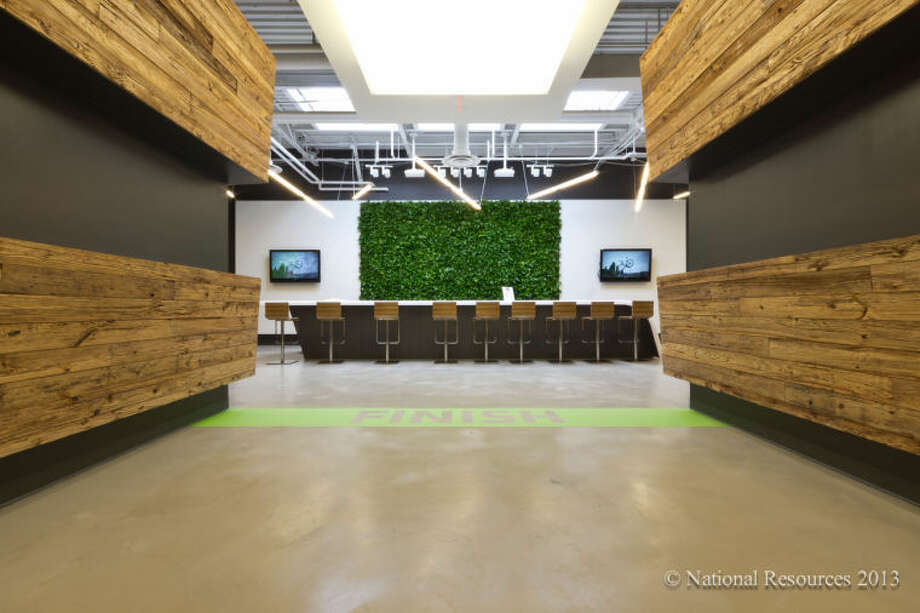 In this file photo, the inside Cannondale's new headquarters at the i.Park in Wilton is shown.
