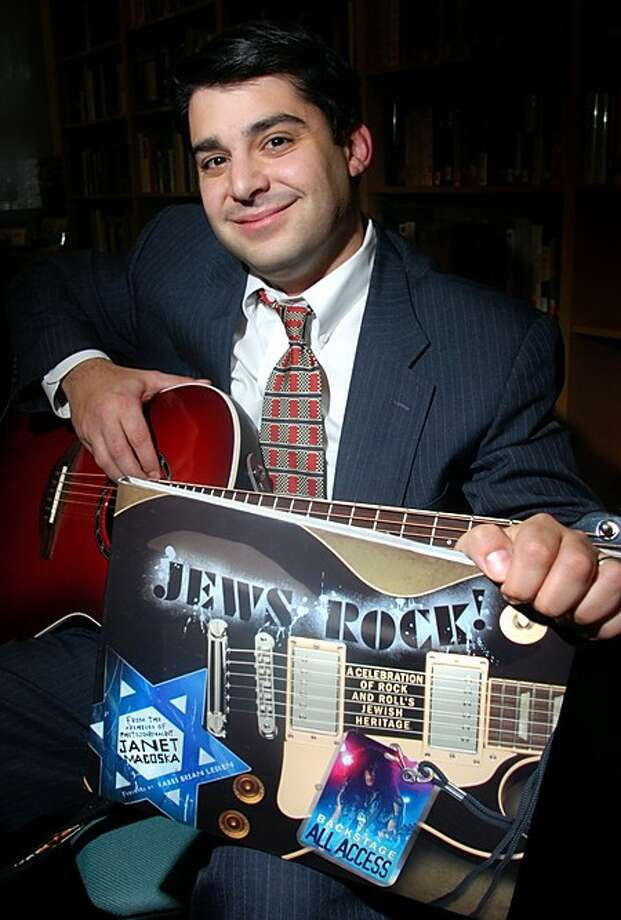 Rabbi Brian Leiken of Temple Shalom in Norwalk, was asked to write the foreword to Jews Rock! A Celebration of Rock and Roll