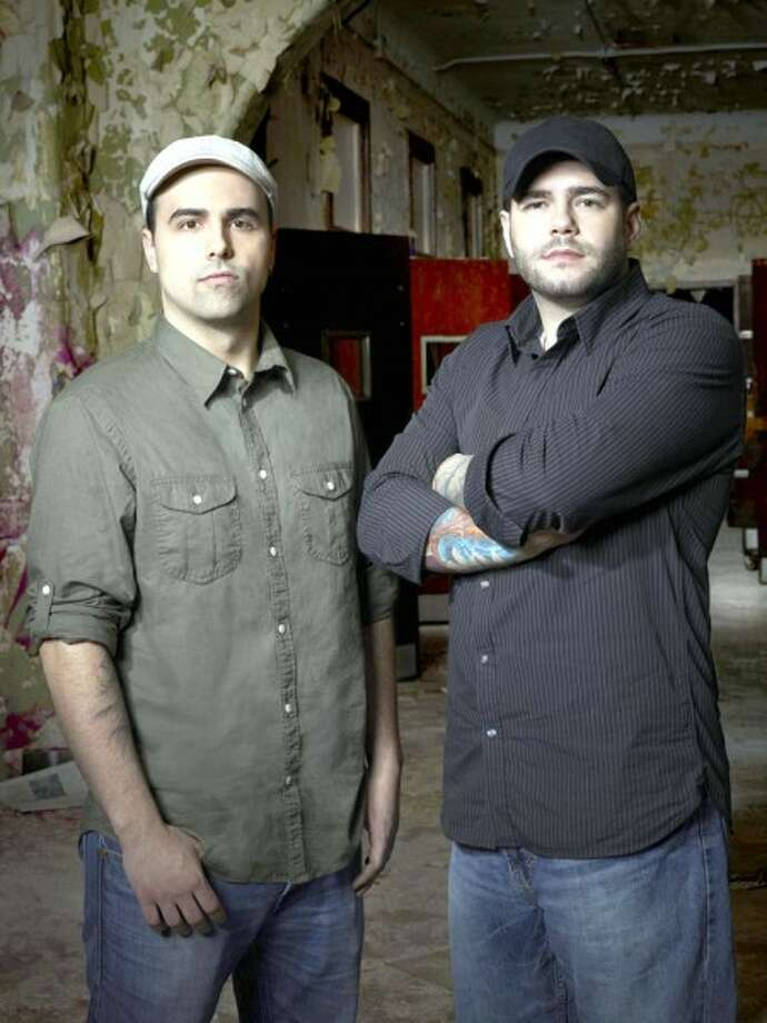 """Ghost Hunter Academy"" stars Dave Tango and Steve Gonsalves on Syfy. (Tommy Garcia/SyFy/MCT)"