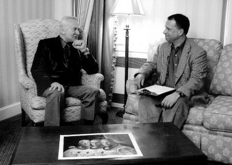 Wiltonian interviews Buzz Aldrin on TV