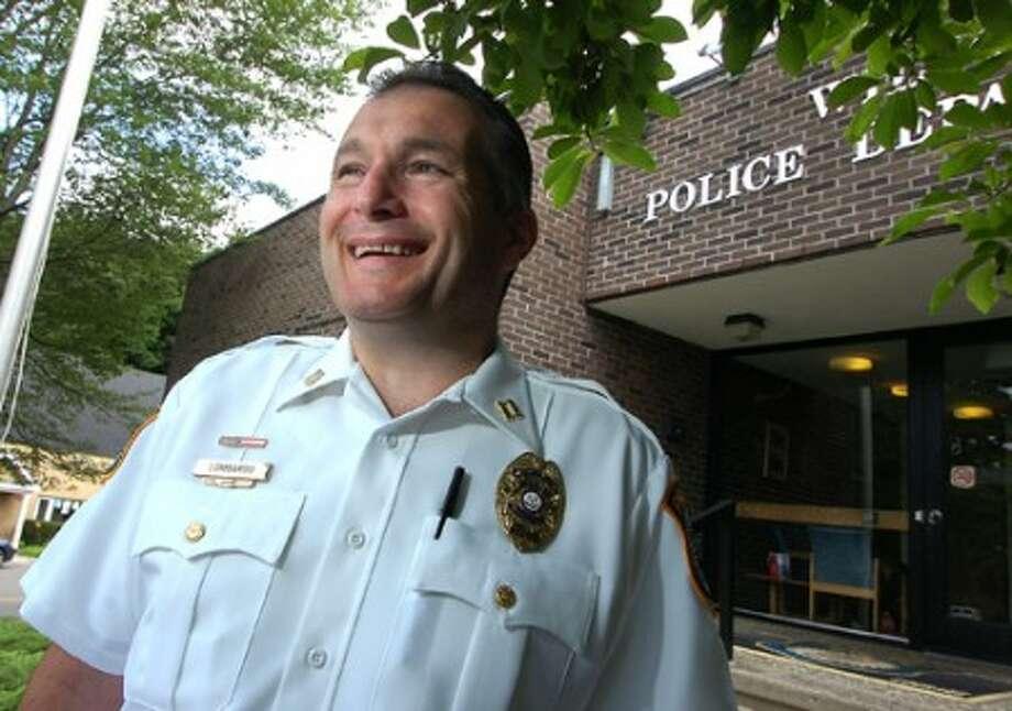 Photo/Alex von Kleydorff. Wilton Police Captain Michael Lombardo to be Interim Chief for Wilton PD.