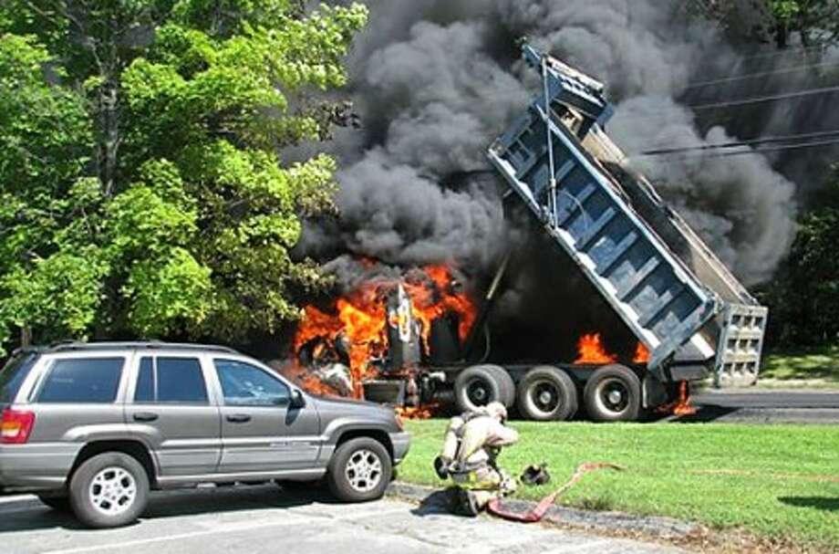 Photo-- LT. Tom Cassin, Wilton Fire Dept.