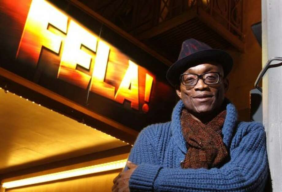 """In this Nov. 12, 2009 photo, choreographer and director of the Broadway production """"Fela!"""" Bill T. Jones is shown in New York. (AP Photo/Carlo Allegri)"""
