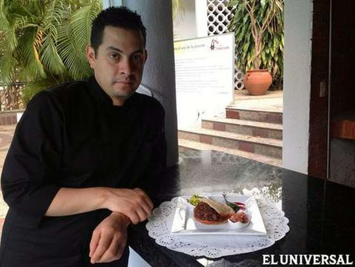 Sabores CDMX is a three-day culinary event that brings four of Mexico City's most talented chefs to Houston for dinners at three of Houston's top restaurants (Americas, Cafe Annie and Pico's). Shown: Chef Israel Montero Raiz.