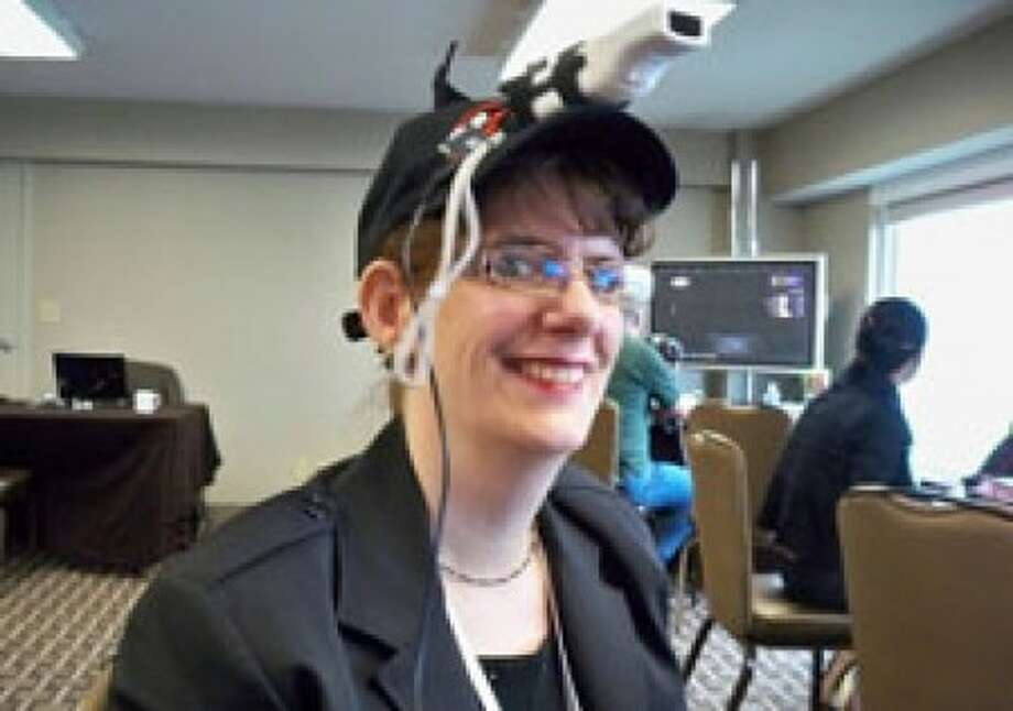 Try to Wii your way through a game using a Wii Remote velcroed to the top of a hat. For those with limited use of their arms, though, that''s the only way games can be played. (Crispy Gamer/MCT)
